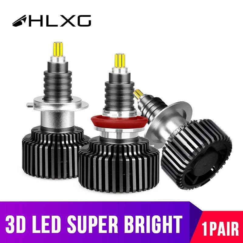 3D H1 H7 LED 360 grad H8 H11 HB3 9005 HB4 9006 9012 HIR2 Led Scheinwerfer Mini 20000LM 6000K auto Nebel Lampe Hohe Abblendlicht 12V 120W