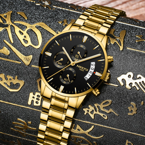 Image 2 - NIBOSI Relogio Masculino Top Marke Luxus Herren Uhren Mode Wasserdichte Auto Datum Quarzuhr Männer Sport Business Männer Uhr