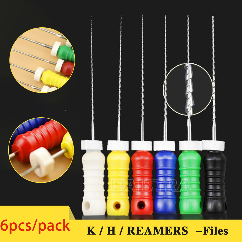 K-files / H-File / REAMER  #15-40 Niti Dental  Endodontic Root Canal Hand Use File Root Canal File