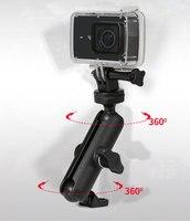 Мотоцикл Велосипед Камера держатель руль зеркало кронштейн 1/4 металлическая подставка для GoPro Hero8/7/6/5/4/3 + действие Камера s аксессуар 2
