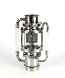 Clamp 3 76mm OD91mm Soxhlet Extractor für destillation. Korb Volumen 350 ml. Edelstahl 304