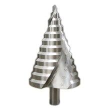 חריץ ספירלה צעד מקדח 6 60mm מקדד Reaming קידוח חור לחתוך תרגיל טוויסט ברזל פלדת צלחת PV צלחת בידוד לוח