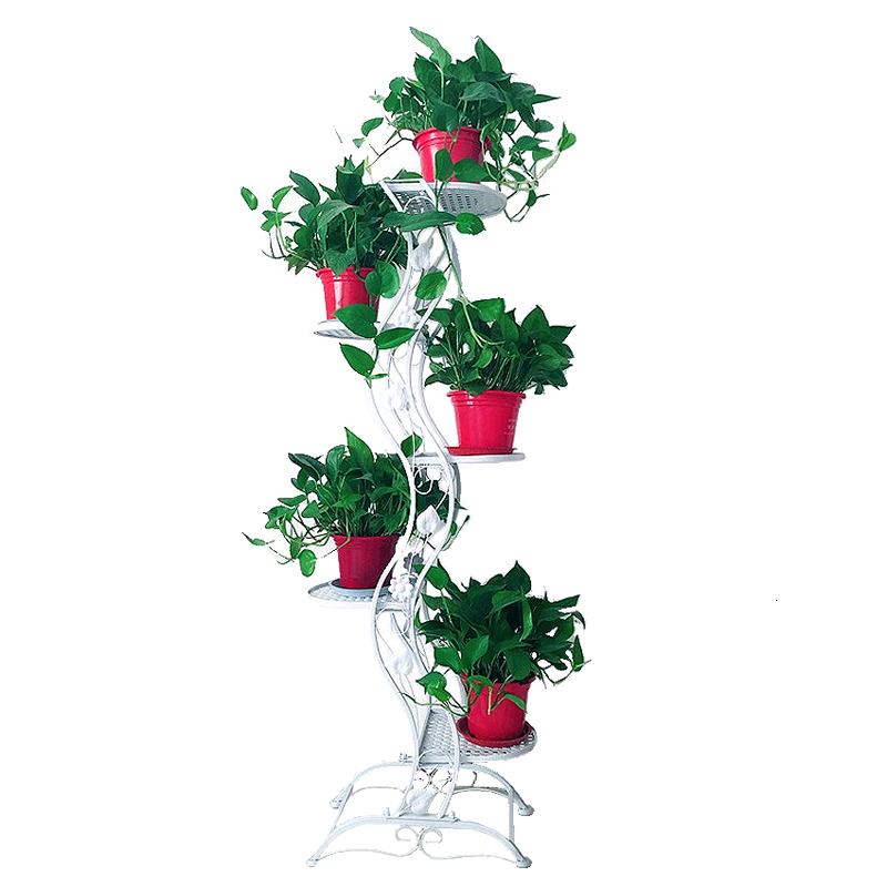 Ground Balcony Chlorophytum Multi-storey Flowerpot Frame Simplicity Indoor A Living Room Bonsai Frame