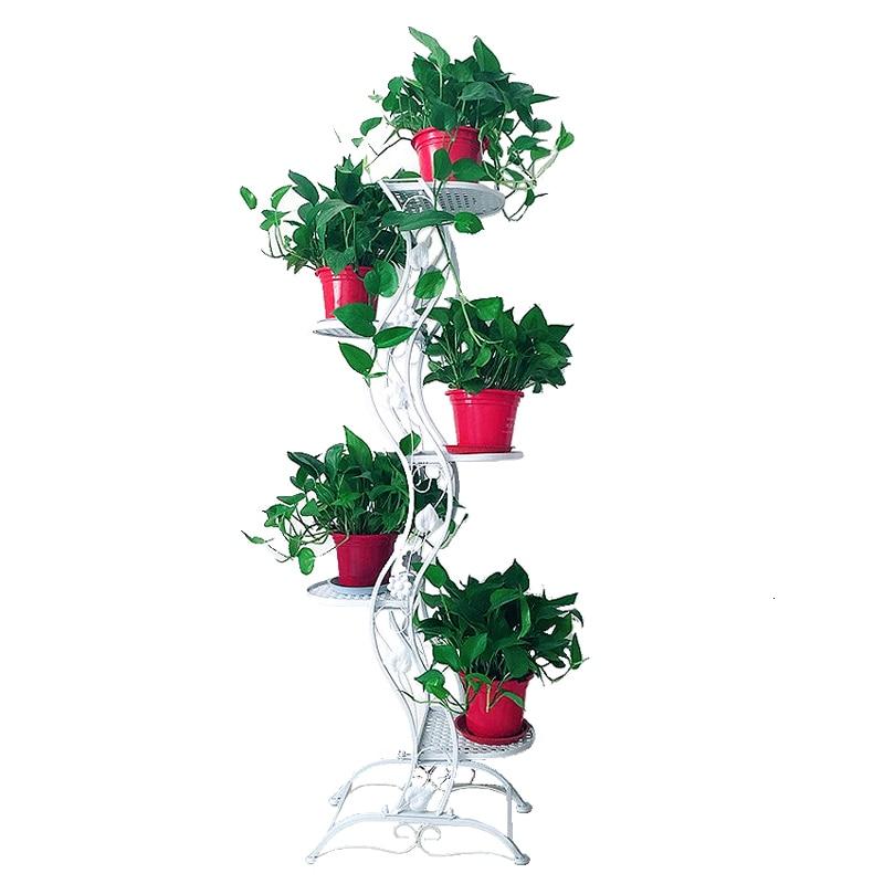 Ground Balcony Chlorophytum Multi storey Flowerpot Frame Simplicity Indoor A Living Room Bonsai Frame|Plant Shelves| |  - title=