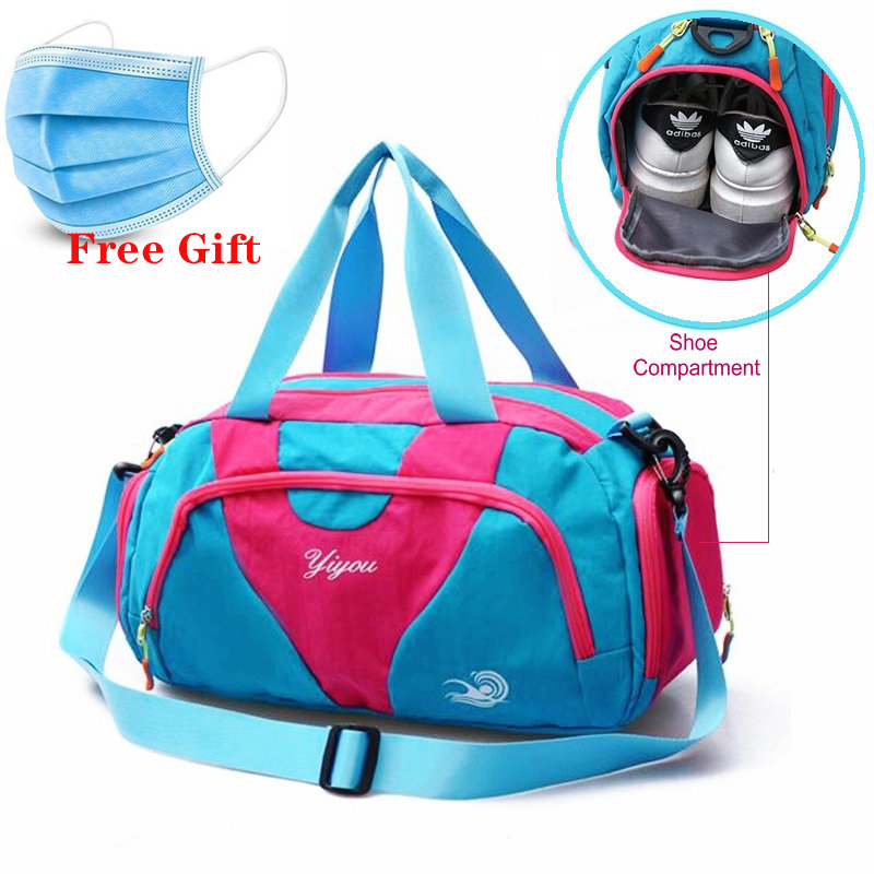 Waterproof Swimming Pool Bag With Shoe Compartment Outdoor Travel Sport Bags Men Lightweight Women Gym Yoga Handbag Luggage Bags