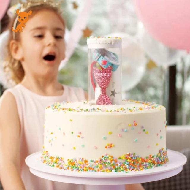 25cm / 30cm family party birthday party surprise cake popular novelty funny practical toy cool magic toy with gift box