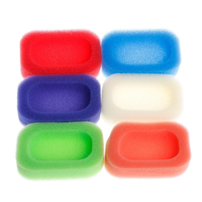 Bathroom Kitchen Mesh Sponge Soap Box Holder Dish Tray Container Random Color Drop Ship Support