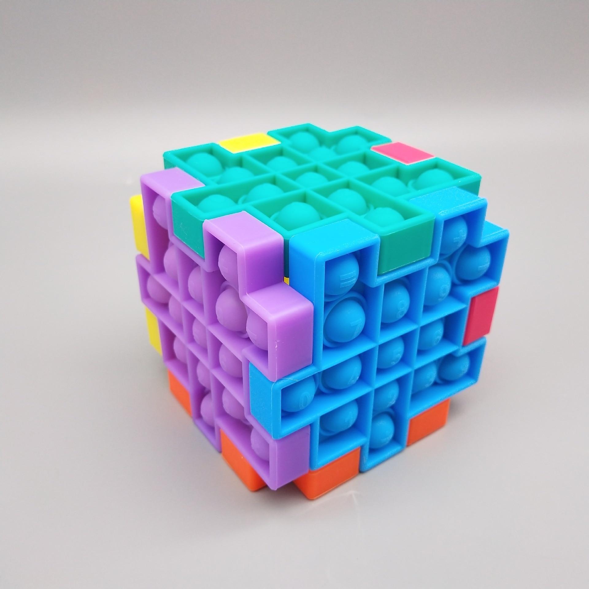 Fidget-Toys Bubble-Sensory-Toy Autism Reliver-Stress Popsit Special