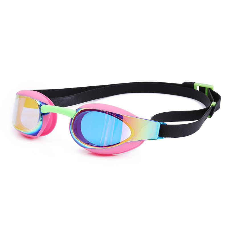 Swimming Goggles Kids Professional Anti-Fog UV Protection Adjustable Waterproof Silicone Swimming Glasses Eyewear