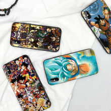 Shockproof shell Soft TPU Case For IPhone 11 Pro 6 6s 7 8 Plus Cover DRAGON BALL Z Zetto Anime X Xr XS Max Silicon Coque Capa(China)