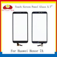 10Pcs/lot For Huawei Honor 7A Touch Panel Sensor Digitizer Front Glass AUM-TL00 AUM-AL20 Screen