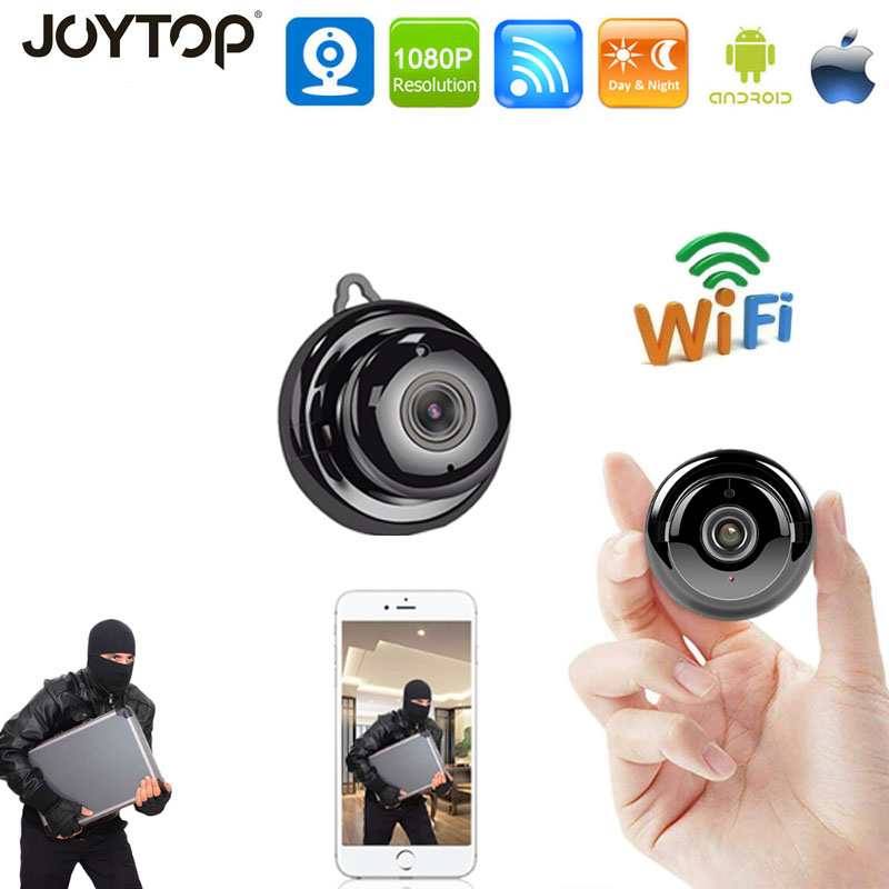 Monitor Camera Surveillance-Wifi Night-Vision Mini Home-Security Wireless 1080P P2P HD title=