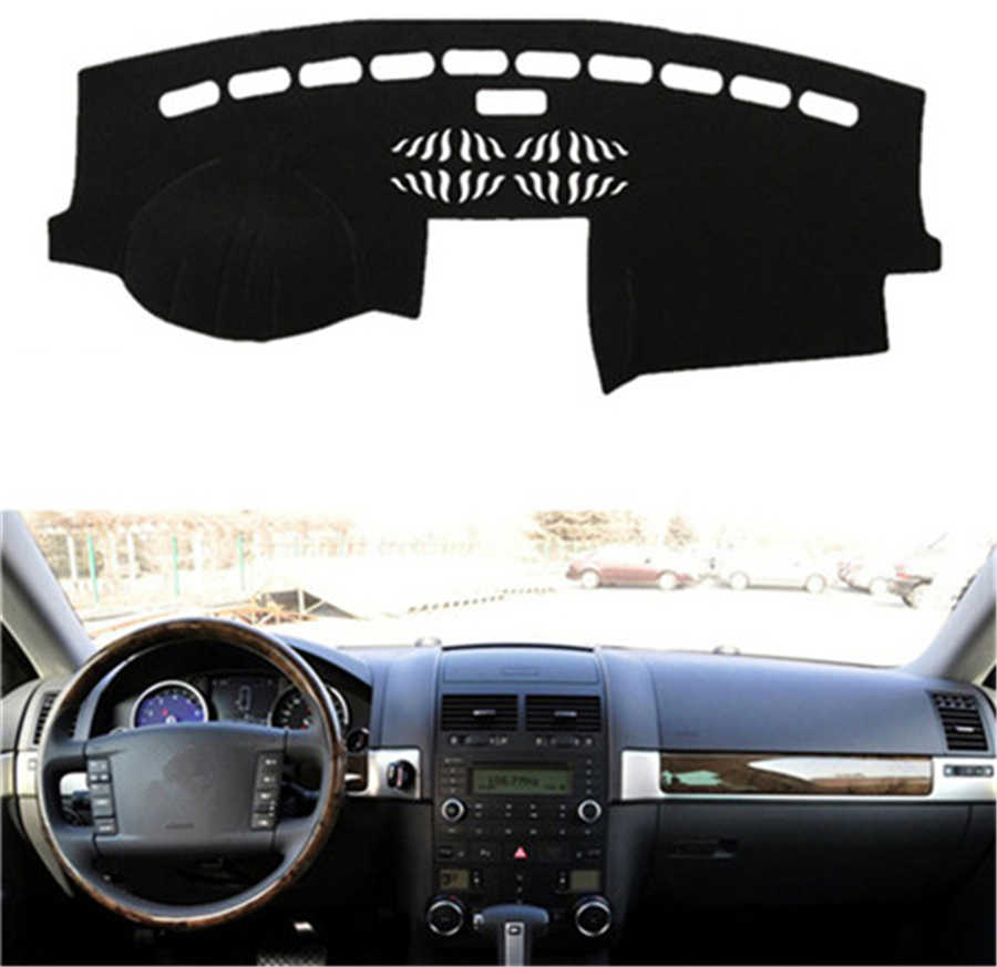 SJ Car Inner Auto Dashboard Cover Dashmat Pad Carpet Sun Shade Dash Board Cover Fit For Volkswagen VW Touareg 2004 2005 2006-10