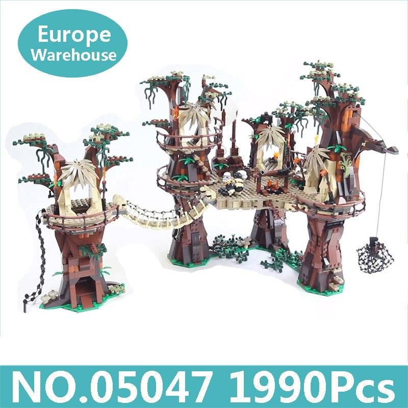 Oyuncaklar ve Hobi Ürünleri'ten Bloklar'de Kral Tuğla Lepinblocks 05047 Ewok Köyü Yıldız Savaşları Serisi 1990 Adet Yapı Taşları Set 10236 doğum günü hediyesi Oyuncaklar Çocuklar Için'da  Grup 1