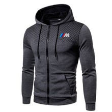 2021New BMW Men's Hoodie Casual Sportswear Hip-Hop Long Sleeve Sweatshirt