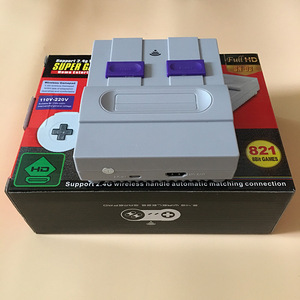 NEW 821games Retro Video Game Console For Snes Game with 2 Wireless Gamepad Controller HD HDMI TV Out SUPER Game for kids gift