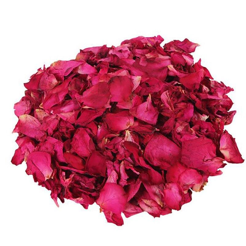 50 г, 100% натуральные Свадебные лепестки роз, популярные украшения для свадьбы и вечерние, биоразлагаемые розы, искусственное украшение «сдел...