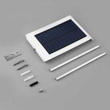 Ultra-thin Outdoor Garden Lamp 24 LED Intelligent Solar Sensor Wall Street Light Garden Security Lamp Wall Lamps