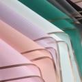 5 шт. Золотая рамка, роза, цветок, оберточная бумага, «сделай сам», корейский стиль, пленка-желе, водостойкая, цветочный букет, фотобумага