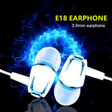 New Wired Earphone Brand New Stereo In-Ear 3.5mm Earphone Headset With Mic For o