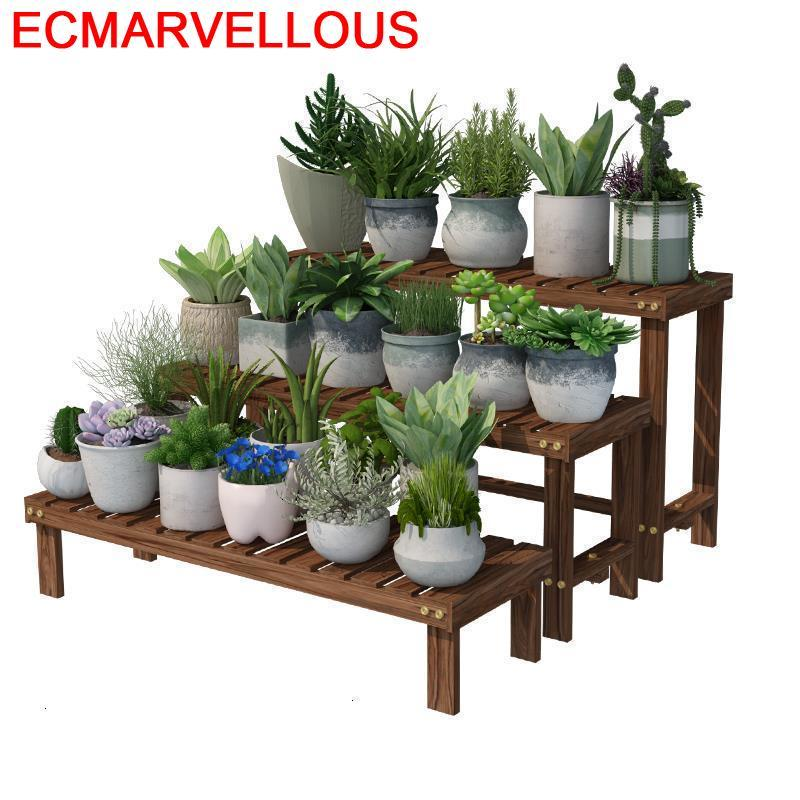 Porta Piante Rak Bunga Varanda Estante Para Flores Indoor Ladder Stojak Na Kwiaty Flower Shelf Rack Dekoration Plant Stand