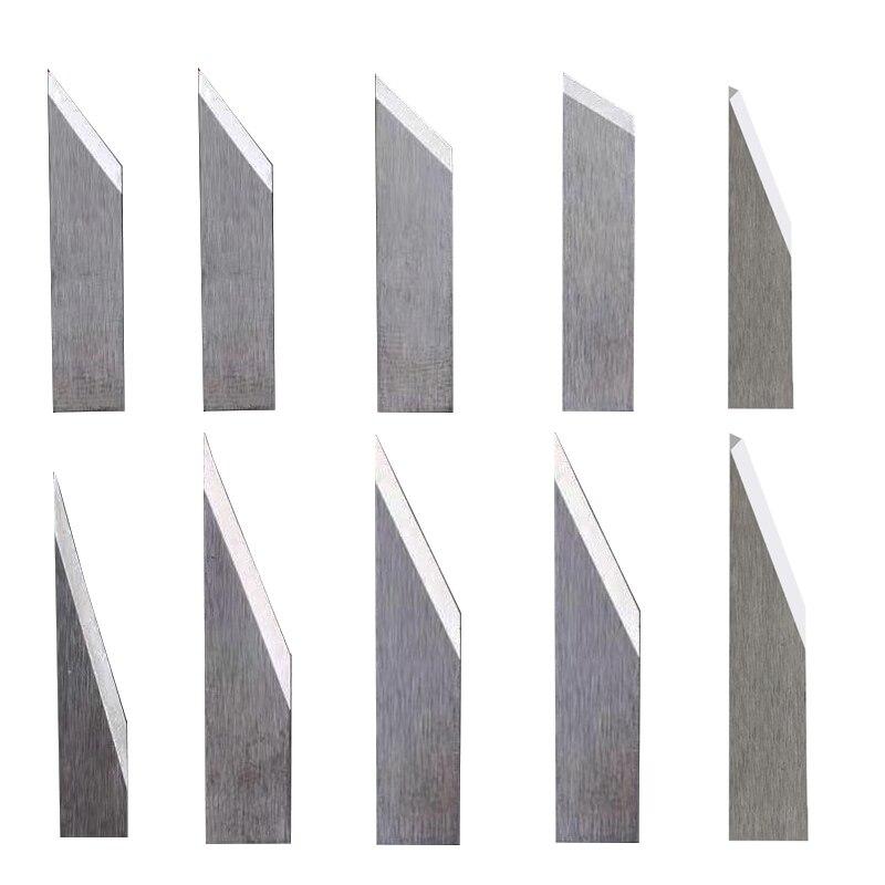 10pcs/lot Rui Zhou Jwei Aoke Iecho Zund Vibration Knife Cutting Blade Cutter 16 Degree 26 Degree 30 Degree 45 Degree 60 Degree