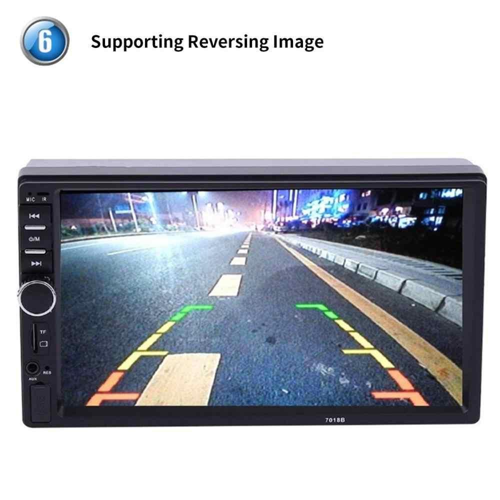 2019 yeni 2 Din MP5 oyuncu 7 inç LCD dokunmatik ekran otomatik FM radyo Video oynatıcı müzik ses ile USB destek arka kamera