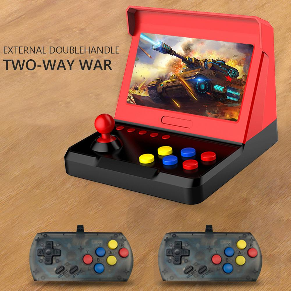 <font><b>AIWO</b></font> <font><b>G1000</b></font> Retro Arcade 7 inch Build-in 3600 Video Classical Games Skillful Design Exquisite Appearance Mini Game Console Player image