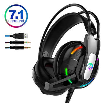 PS4 Gaming Headphone Earphone 7.1 Channel Stereo Headset Noise Cancelling with Microphone for New Xbox One/Laptop/PC Tablet Game - DISCOUNT ITEM  18% OFF All Category