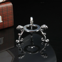 Ornaments Sphere-Holder Crystal-Ball-Stand Engraved-Display Photography-Props Home-Decor