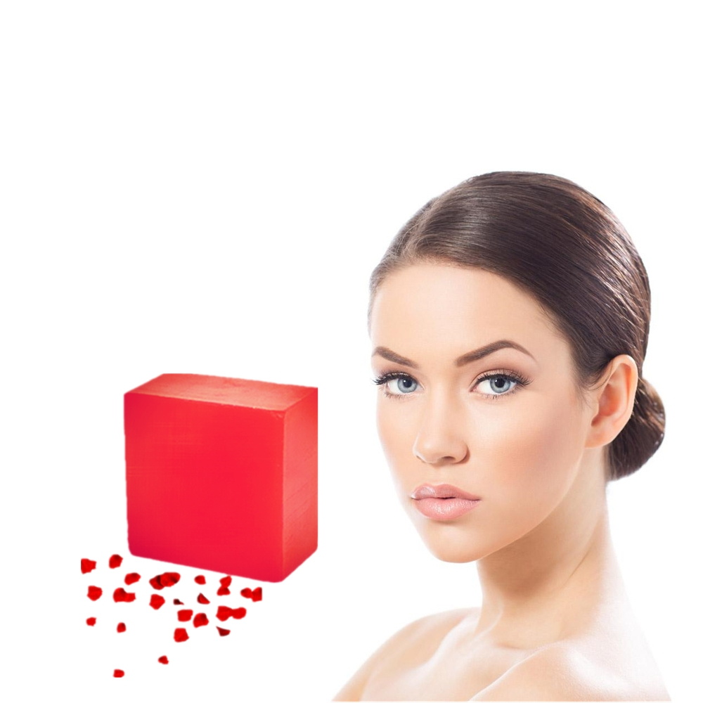 Super Value 100g Red Wine Rose Perfume Soap Face Body Clear Refine Pore Openings Completely Active Energy Anti Wrinkle Soaps