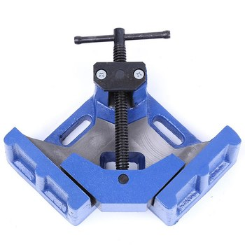 90 Degree Right Angle Clamp Fixed Corner Vice Grip For Welding Woodworking 4 Inch Right Angle Welding Clamp