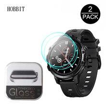 2 pezzi di vetro temperato 2.5D per Zeblaze THOR 6 jack6 Smart Watch 1.6 pollici 0.3MM HD trasparente resistente ai graffi vetro di protezione impermeabile