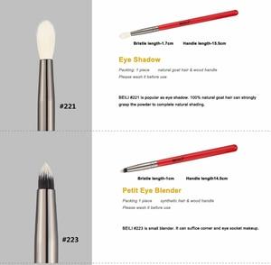 Image 3 - BEILI makyaj fırçası 1 adet profesyonel doğal saç göz farı fırça Blender kırışık makyaj kozmetik 228/221/222/223/235/134/225