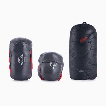 Naturehike Down sleeping bag Outdoor thickening Warm camping Single sleeping bag Adult light Mummy sleeping bag NH19YD001 6