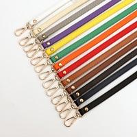 Cinturón ajustable de 120cm para mujer, correa de hombro de repuesto, cruzada, 1,2 cm, Correa delgada para bolso, correa de cuero PU DIY para bolso