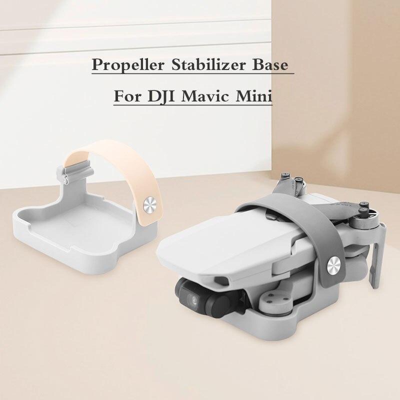 Propeller Stabilizer Base For DJI Mavic Mini Drone Blade Fixed Props Transport Protection Cover Mount For Mavic Mini Accessories
