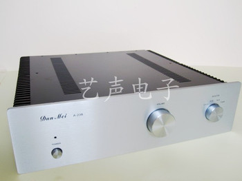 A238/Transistor chassis/External Heat Dissipation /all-aluminum amplifier chassis amplifier case amp