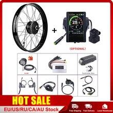 """Bafang Motor de cubo de rueda trasero, 48V, 750W, 20 """"y 26"""", Kits de conversión de bicicleta de nieve eléctrica, Motor potente de Cassette CC DIY"""