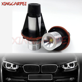 2pcs Xenon White E39 Led Angel Eyes Blub Fit For B MW E39 E83 X3 E53 X5 E60 525i 530i xi 545i M5 Car Led Marker Light Bulb image