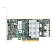 Pour LSI 9267-8i 2208 disque de contrôle principal RAID Contreller carte PCIEx8 6gbps 512M pour RAID0 1 5 6 (S) pour LSISAS2208 dual-core ROC
