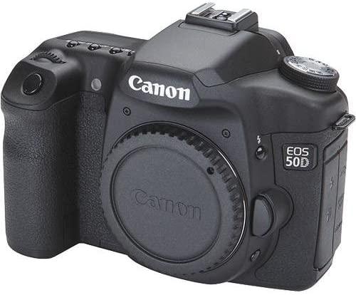 Бывшая в употреблении камера Canon EOS 50D DSLR (только корпус) с 1,3-мегапиксельным CMOS-датчиком