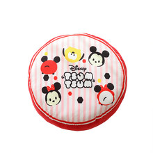 Super Zachte Mickey Mouse Rugkussen Cartoon Beer Stoel Of Auto Kussen Pluche Pad Gevuld Kussen Kids Gift Home Decoration(China)