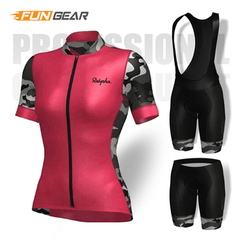 цена на Women Summer MTB Bike Cycling Clothing Breathable Mountain Bicycle Clothes Ropa Ciclismo Quick-Dry Cycling Team Jersey Sets