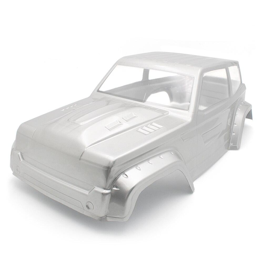 313mm Wheel Base PVC Transparent Car Shell Scx10 SCX10-ll Climbing Car Body Shell For 1/10 RC Cars DIY Parts