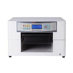 Niski koszt A3 ploter płaski uv  CD/etui na telefon/plastikowa karta/drukarka kart ślubnych  mała maszyna do druku uv