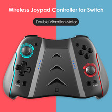 Mando de juego inalámbrico Con Bluetooth para Nintendo Switch, repuesto para Joy Con agarre, compatible Con Turbo de 6 ejes, Gyro Dual