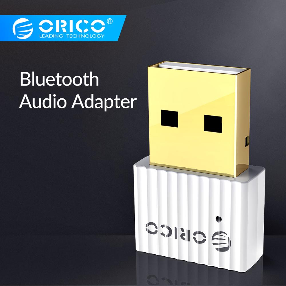ORICO USB Bluetooth 4.2 Wireless Transmitter EDR 2.4GHz Aux Audio Bluetooth Adapter With Hanging Chain For Computer PC Tablet