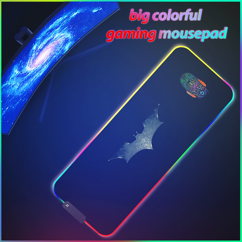 Big Gaming Mouse Pad RGB Mouse Pad Gamer Large Mouse Mat Computer Mousepad Led Backlight  Mause Pad