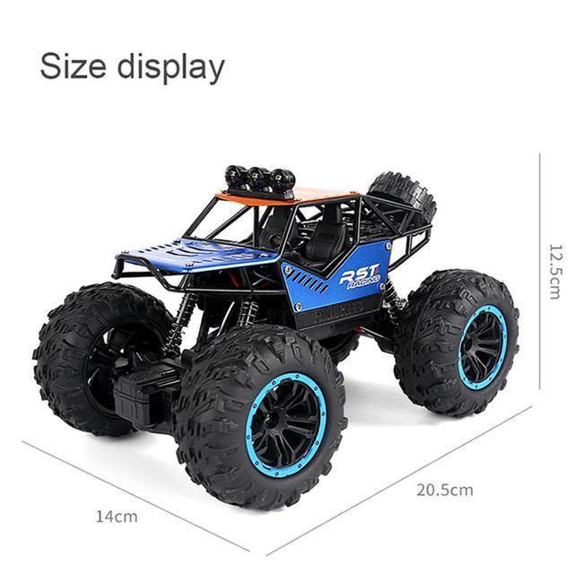RC Car Toy 2.4G Radio Control Car Toys Buggy Climbing Off-Road Remote Control Trucks Boys Toys For Children 6